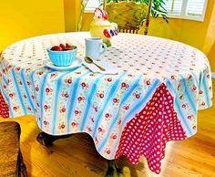 Reversible Breakfast Tablecloth