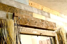 DIY Bathroom Light!! I was just about to scrap my old one until I saw this!!! This is a MUST!
