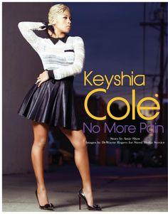 "Keyshia Cole On The COVERS Of RollingOut Mag + Keyshia Feat. Ashanti ""Woman to Woman"" New Single! ~ Gossipwelove"