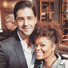 """It's a Drake & Josh Reunion! Check Out Which Co-Stars Are """"Finally Getting Along""""  Josh Peck, Yvette Nicole Brown"""