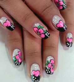 Shaving Cut, This Little Piggy, Flower Nail Art, Toe Nails, Hair And Nails, Manicure, Nail Designs, Make Up, My Favorite Things