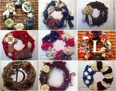 Elsies Creative Designs, we specialize in Burlap, Deco Mesh and Grapevine Wreaths, Wood n Burlap Décor and Mason Jar Décor, we are inspired by Rustic and Shabby Chic Style. We take Custom Orders on all our handmade merchandise. https://www.etsy.com/shop/ElsiesCreativeDesign?ref=pr_shop_more#