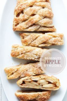 Apple strudel in memory of germany i love authentic recipes from easy 30 minute apple strudel forumfinder Images