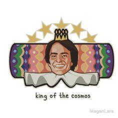 King of the Cosmos by MeganLara