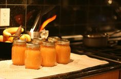 Persimmon Jam - I'm bartering homemade Italian bread for the persimmons