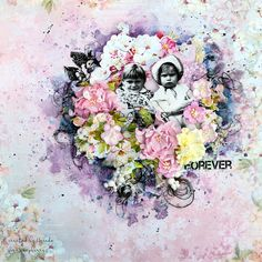 Forever layout for Scrapberry's  by Ayeeda