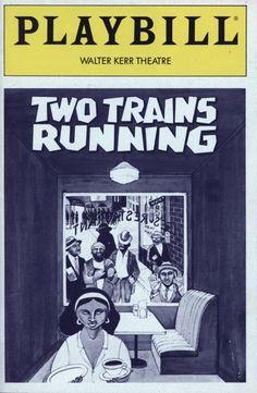 Two Trains B&W