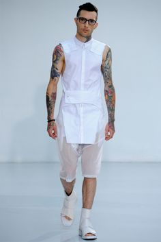 Nicolas Andreas Taralis - Spring Summer 2012 Ready-To-Wear - Shows - Vogue.it