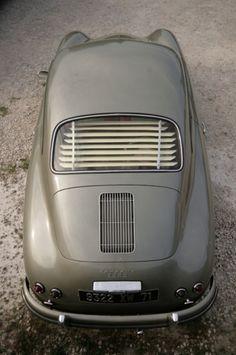 Gray | Grey | Gris | グレー | Grigio | серый | Gurē | Colour | Texture | Pattern | Style | Design | Composition | 60's Porsche