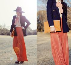 from tinytoadstool ---- navy and orange. Got it, will do!