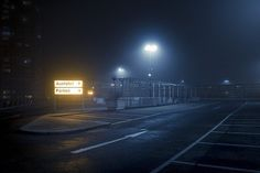 In the series At Night, photographs by Andres Levers show urban spaces lit by streetlights. Levers, from Potsdam, Germany, works as a media designer. Night Time Photography, Color Photography, Street Photography, Landscape Photography, Night Aesthetic, City Aesthetic, Urbane Fotografie, Night Film, Cyberpunk City