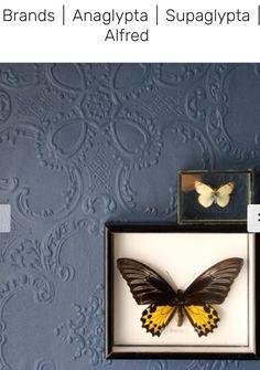 Anaglypta Wallpaper Alfred - White - View All - Wallpaper & Decor Unique Wallpaper, Wallpaper Decor, Painting Wallpaper, White Wallpaper, Anaglypta Wallpaper, Rockett St George, Grey Paint, Kitchen Art, Designer Wallpaper