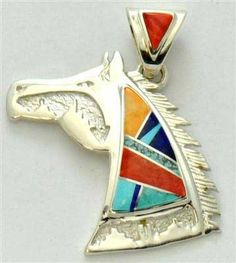 Calvin Begay Jewelry -Click On Photo To Review The Complete Collection!  http://www.indianvillagemall.com