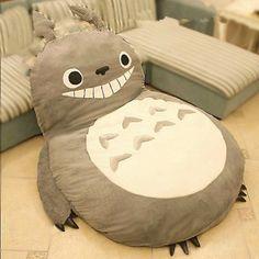 Amazon.com - JuniorPartner, Totoro Design Bigsofa 2.7x1.7m Totoro Bed Totoro Double Bed Totoro Sleeping Bag - Sleeper Sofas