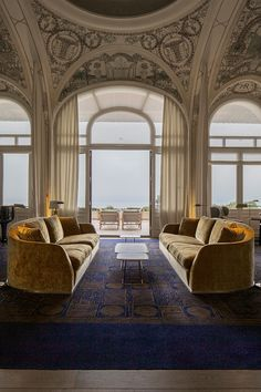 L'Hôtel Royal d'Évian Hotel Interior Design Trends | luxury real estate, exclusive resorts, most expensive hotels, leading hotels, hospitality projects. | Check out Brabbu Contract at http://brabbucontract.com