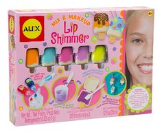 Amazon.com:+ALEX+Spa+Fun+Mix+and+Make+Up+Lip+Shimmer+$12.73+{reg.+$22}