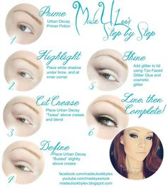 Makeup Ideas For Prom - Made You Look - These Are The Best Makeup Ideas For Prom and Homecoming For Women With Blue Eyes, Brown Eyes, or Green Eyes. These Step By Step Makeup Ideas Include Natural and Glitter Eyeshadows and Go Great With Gold, Silver, Yellow, And Pink Dresses. Try These And Our Step By Step Tutorials With Red Lipsticks and Unique Contouring To Help Blondes and Brunettes Get That Vintage Look. - thegoddess.com/makeup-ideas-prom