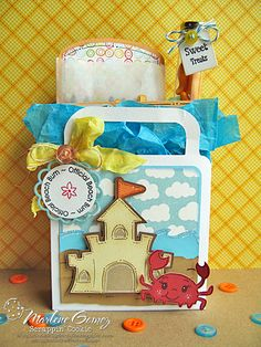 Scrappin Cookie: My Craft Spot Inspiration - Official Beach Bum Coloring Kit