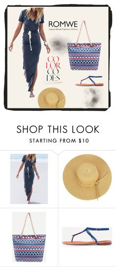 """ROMWE-1/9"" by thefashion007 ❤ liked on Polyvore"