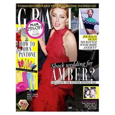 In this week's Grazia: Could wedding bells be on the cards for Amber Heard once again? Her father reveals how the actress is already preparing to marry billionaire Elon Musk just four months after her divorce from Johnny Depp was finalised. Plus Jo Cox's sister Kim Leadbeater speaks about her grief for the first time and reveals her family's new peace initiative. Over in fashion we solve your seasonal denim dilemmas with our S/S'17 guide to white jeans (clue: it's all about the cut) and…