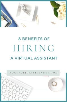8 Benefits of Hiring a Virtual Assistant Start Up Business, Growing Your Business, Business Planning, Business Tips, Online Business, Life Changing Books, Making Excuses, Marketing, Virtual Assistant