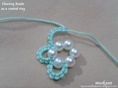 how to add a floating bead in tatting – an introduction. how to add a floating bead in tatting – an introduction.,boncuk how to add a floating bead in tatting – an introduction. Tatting Earrings, Tatting Jewelry, Lace Earrings, Tatting Lace, Beaded Jewelry, Ethnic Jewelry, Needle Tatting Patterns, Crochet Jewelry Patterns, Crochet Earrings Pattern