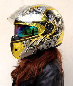 803 Masei chrome helmet