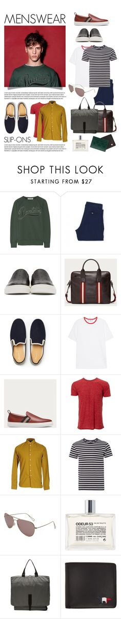 """""""slip-ons"""" by fabuluz ❤ liked on Polyvore featuring Étoile Isabel Marant, Armor-Lux, Alexander McQueen, Bally, AMI, Simplex Apparel, Minimum, A.P.C., Isabel Marant and Comme des Garçons"""
