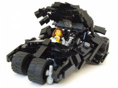 Batman's The Tumbler (Update): A LEGO® creation by Marcus Paul : MOCpages.com