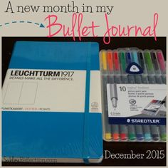 A walkthrough of how I set up my monthly Bullet Journal pages for December! - Sublime Reflection