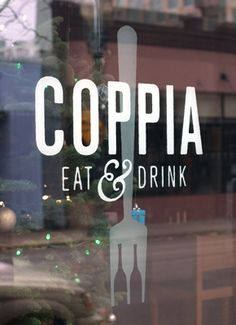 Factory North - Coppia Italian Restaurant Identity