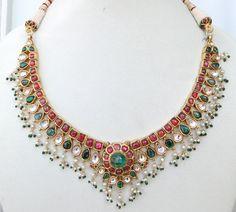 Vintage antique 20 carat Gold Daimond polki by tribaloldsilver, $6100.00