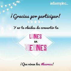 Natalia Sánchez y Gabriela De Freitas son las ganadoras del Concurso #Luernes ¡Muchas gracias a todos por participar!