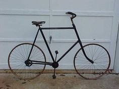 1896 Columbia Columbia shaft drive model 50 - Picture #1 - Dave's Vintage Bicycles