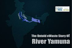 """The Untold eWaste Story of River Yamuna  This Strata of India is blessed to have the holy river, """"Yamuna"""" in its arms. But with the evolution of time the major question that arises is whether river #Yamuna is blessed enough to be in Delhi or not? #ewaste #cleaneindia"""