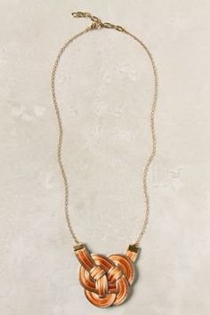 #anthropologie.com        #love                     #Love #Knot #Necklace     Love Knot Necklace                                  http://www.seapai.com/product.aspx?PID=1416023