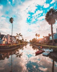 Venice Beach Canals by @debodoes by CaliforniaFeelings.com california cali LA CA SF SanDiego
