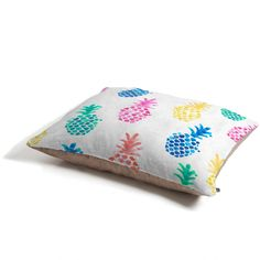 Dash and Ash Pineapple Paradise Pet Bed | DENY Designs Home Accessories