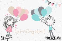"""Applikationsvorlage """"Fly away Mädchen & Junge Geburtstags-Set"""" Schwierigkeitsgrad: Schwer (da man nähmalen muss) nach der Vorlage von Natalia Skripko Ein tolles Set für alle Geburtstagskinder und Luftballonfans. Enthalten sind das süße Mädchen und der Junge in mehrfarbig, zweifarbig und einfarbig. Sowie die mehrfarbige Miniversion. Zusätzlich gibt es ein paar Extras für Geburtstagskinder zB. die Zahlen von 0 - 9, der Schriftzug happy birthday und Geburtstagskind sowie eine süß..."""