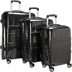Luggage Sets Collections | The Set of Classic Isle of Man Hardside 3 pc Luggage Set -- Continue to the product at the image link. Note:It is Affiliate Link to Amazon.