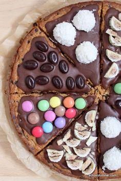 Cookie-Pizza für kleine und große Kinder