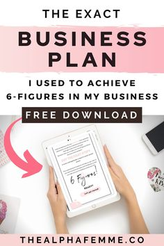 Get The Exact Business Plan that I Use To Make Multiple 6 Figures A Year Without burning out and hustling forever! This free business plan template will help you build a profitable business even with little to no business experience. #6figurebusiness #businessplan #buildinga6figurebusiness Free Business Plan, Business Plan Template, Business Planning, Social Media Calendar, Mindset, Budgeting, Finance, Tools, How To Plan