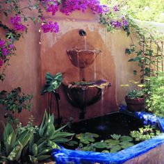 Spanish Garden on Pinterest Patio Courtyards and