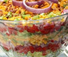 Sałatka kebab Polish Recipes, Polish Food, Food And Drink, Yummy Food, Dinner, Vegetables, Cooking, Ethnic Recipes, Impreza