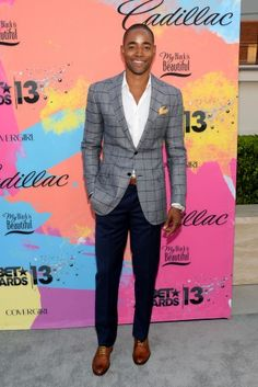 Jay Ellis, love his jacket.