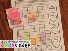 13 Candy Heart Activities