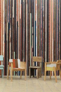 Scrapwood Wallpaper 2 - PHE15 By Piet Hein Eek - Wallpaper - Scrapwood - Wallpaper & Decor