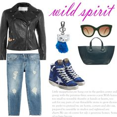 Look # 20-High-Top Sneakers-Straight Leg Jeans-Eye Sunglasses-Leather…