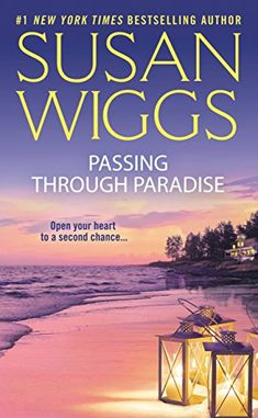 Saw a girl reading this before a meeting. Passing Through Paradise by [Wiggs, Susan] // Recommended by a woman I met at a meeting while she was reading it.