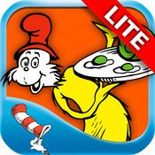 """Green Eggs and Ham - Dr. Seuss - LITE ScreenshotsDescriptionThis free LITE version of the Dr. Seuss classic """"Green Eggs and Ham"""" includes the first few pages of the digital book app. """"A well-crafted digital book, a rich and immersive reading experience."""" - Mobile Tech Review  Included in """"Best ..."""